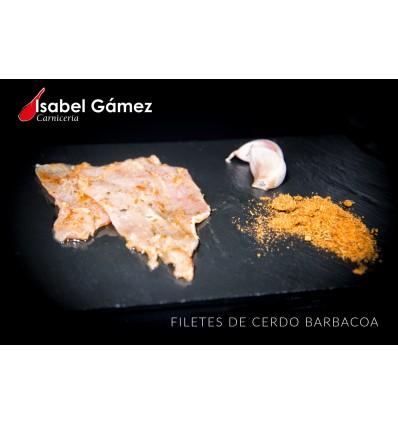 FILETES DE CERDO BARBACOA